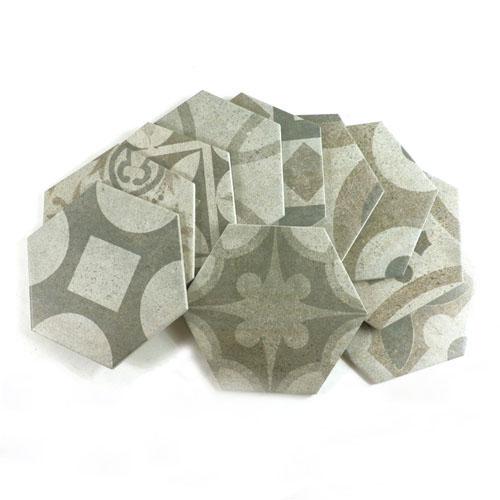 [무료배송]이집트 육각타일(200x230mm)-20장랜덤발송