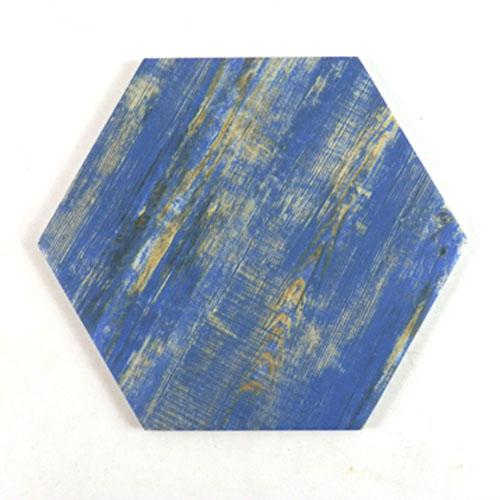 [무료배송]안개나무 블루 육각타일(200x230mm)