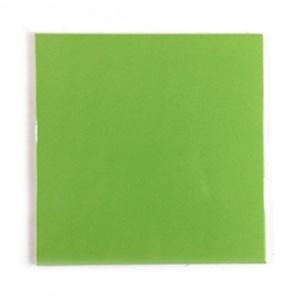 [무료배송]정사각유광녹색(200x200mm)/박스판매