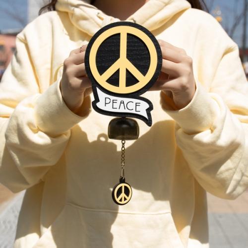평화(peace) 메시지 도어벨