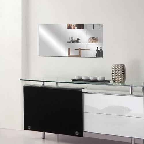 라운드 직사각형 아크릴 거울