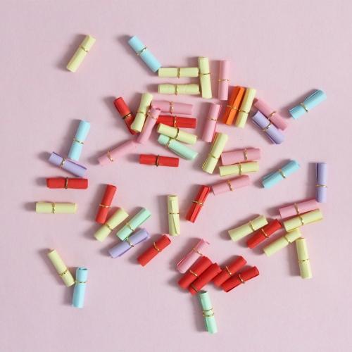 미니 두루마리 편지(3x10.5cm) 낱개판매/유리병편지