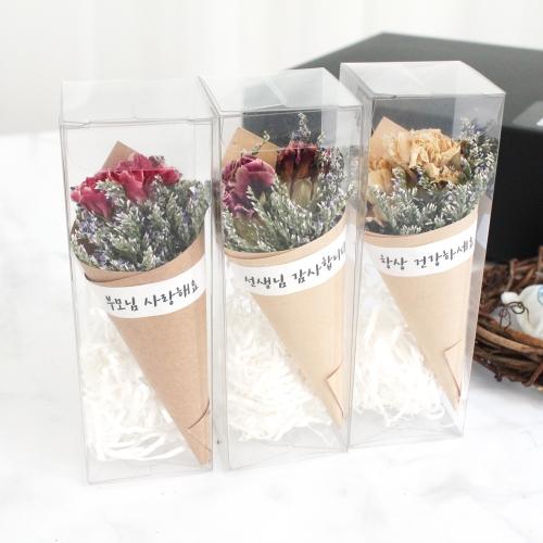 어버이날,스승의날 카네이션 초미니꽃다발 선물/드라이플라워
