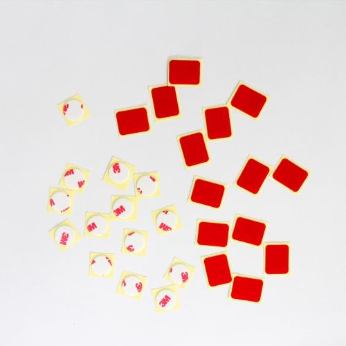 조각 양면테이프 낱개판매/사각 원형/3m 아트사인