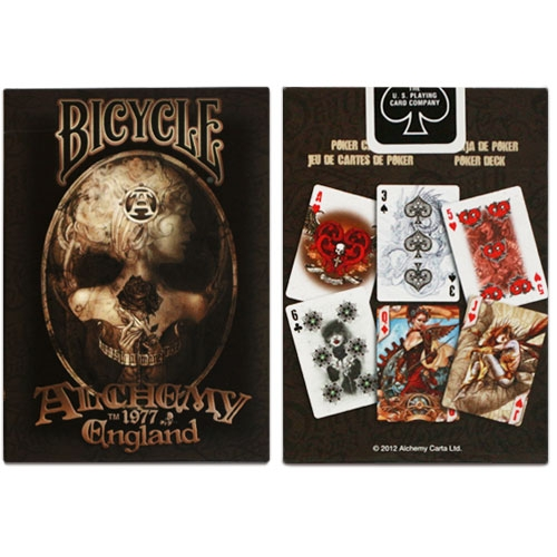 뉴버젼앨커미덱(Bicycle Alchemy England Deck)