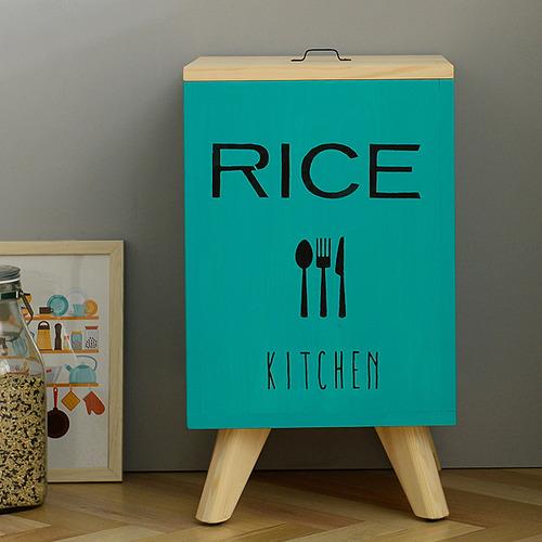 소나무 쌀통