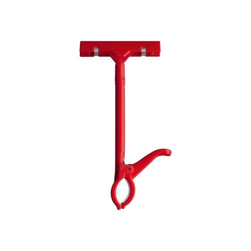 0080 - 쇼클립 엄지손클립 빨강 (대) 집게 클립
