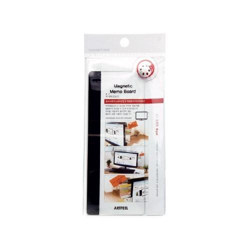 AF2002 - 모니터 메모보드 자석 오른쪽 20cm 사무 서류 메모 부착
