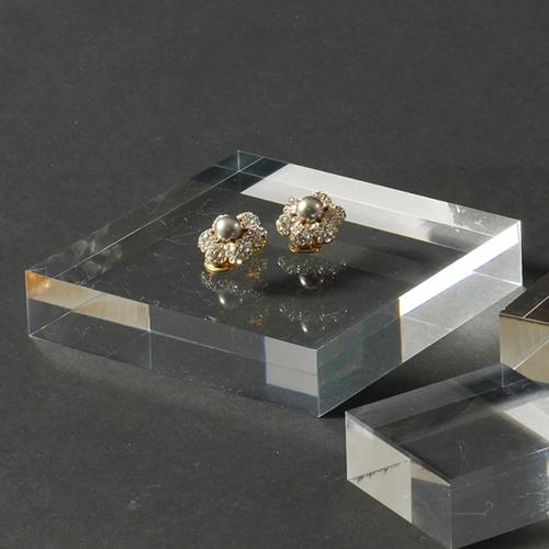 DP0102 - 스테이지사각100 디스플레이 아크릴 진열대