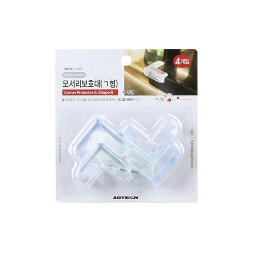L1001 - 모서리보호대(ㄱ형)투명 생활용품 모서리안전커버