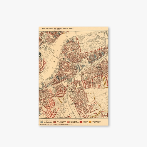[Old Map Series] Type A - London Map-1