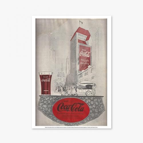 [빈티지아트포스터] Coca Cola  - 017