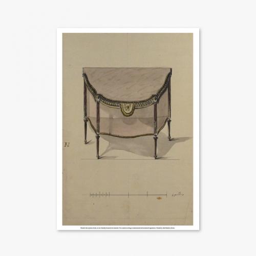 [빈티지아트포스터] Antique table - 043