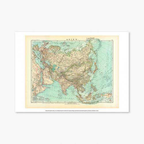 [빈티지아트포스터] 19th century ASIEN - 055