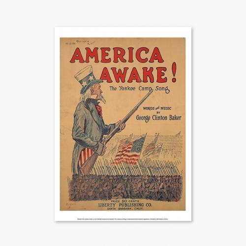 [빈티지아트포스터] AMERICA AWAKE - 138