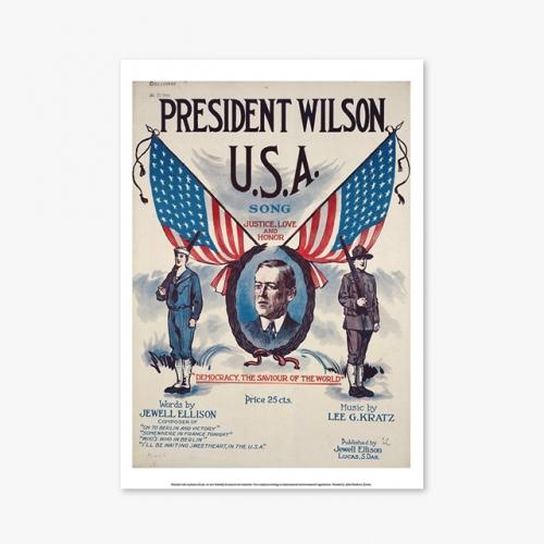 [빈티지아트포스터] PRESDENT WILSON - 142