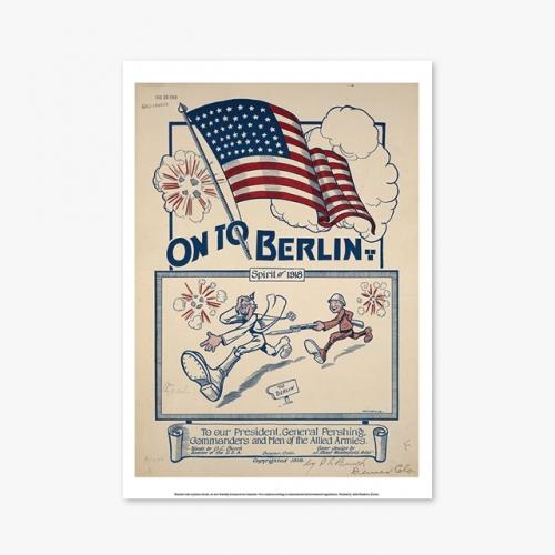[빈티지아트포스터] ON TO BERLIN - 145