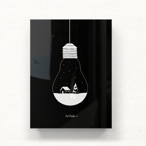 White Christmas 아크릴 일러스트 그림액자by김나래(251356)