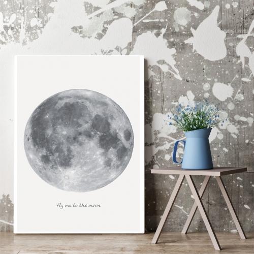 오홀리브 액자테이블 보름달 신상