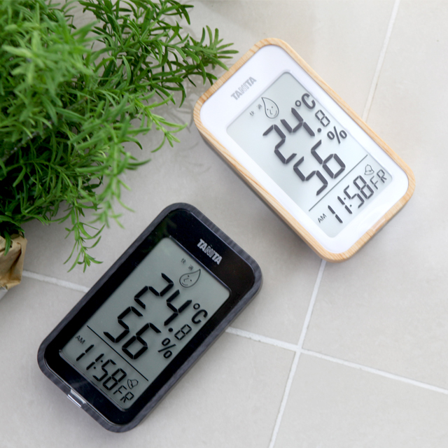 디지털 온습도계/온습도측정기 알람 시계 실내온도계 [ZM]