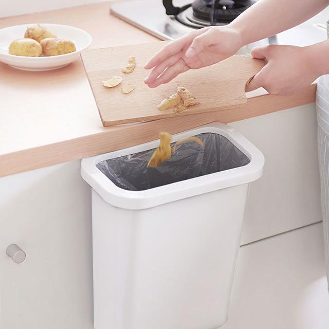 싱크대 걸이식 음식물 쓰레기통/음식물 쓰레기 씽크대쓰레기통 바스켓 싱크대걸이 [HY]