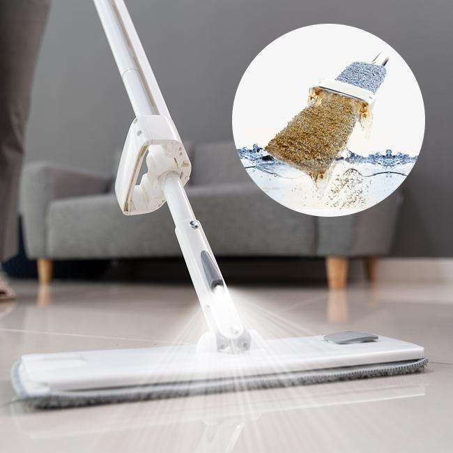 라이크하우스 노터치 스프레이 밀대걸레 물걸레 청소기