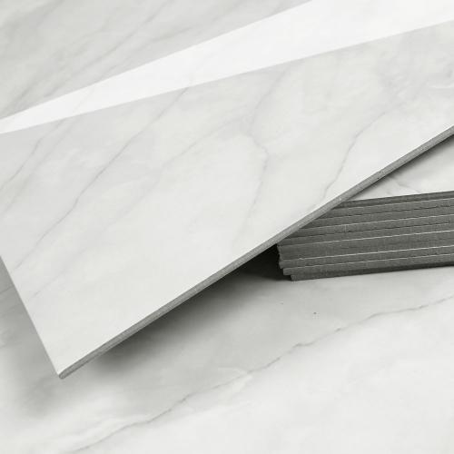3T접착식 데코타일 (TL-08) 유광 대리석 마블크림화이트_간편시공 스티커형
