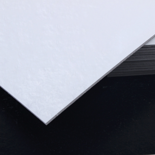 3T접착식 사각데코타일(TL-09) 무광 화이트엠보스_간편시공 스티커형