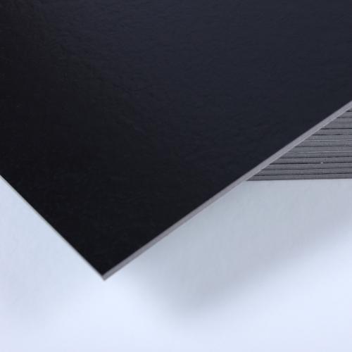 3T접착식 사각데코타일(TL-10) 무광 블랙엠보스_간편시공 스티커형