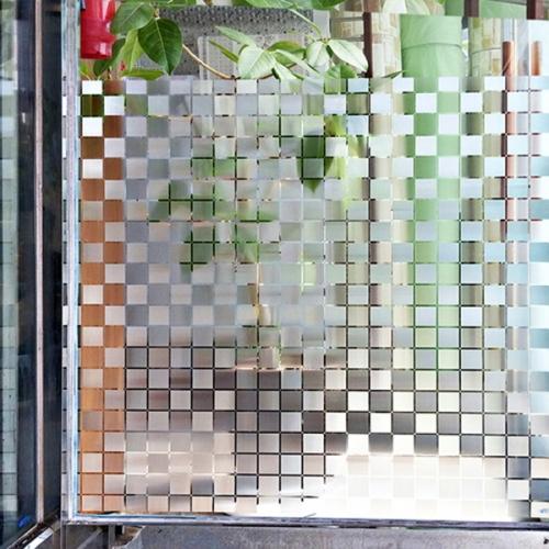 무점착창문시트지 바둑무늬사각 (HSW-32110)