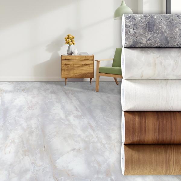 항균 바닥 장판 리폼 시트지 대리석 무늬목베란다현관