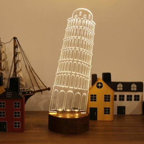 피사의사탑 LED조명