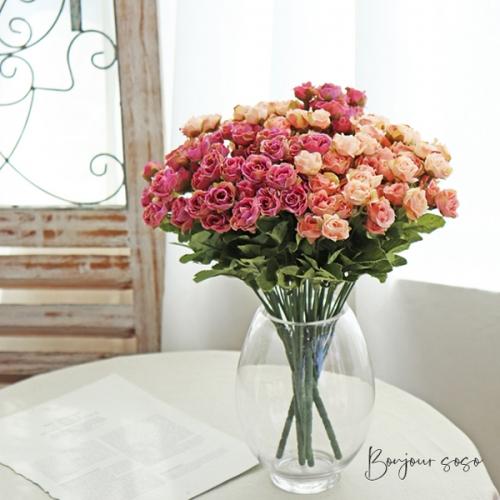 러블리 와일드 로즈 2color - 인테리어조화 실크플라워