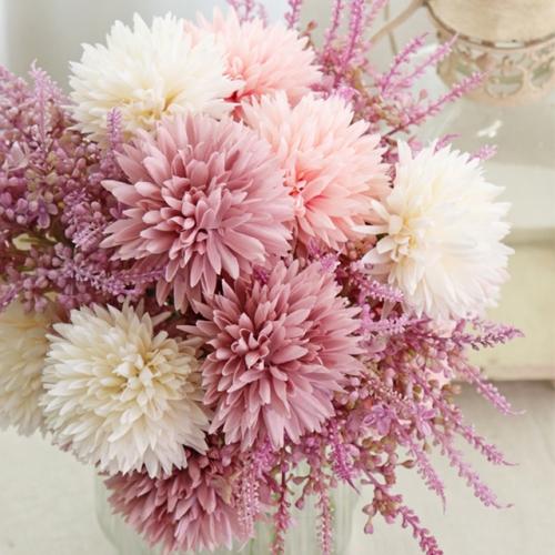 소박하고 작은꽃 루시앙 3color - 실크플라워 인테리어조화