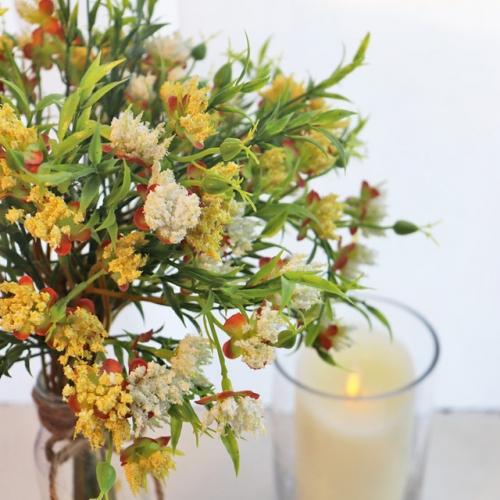 봄을 머금은 들꽃 한 다발(여섯대) - 실크플라워