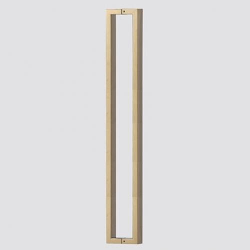 강화도어핸들 GS 191(40x20) 티타늄 골드 무광 1000MM