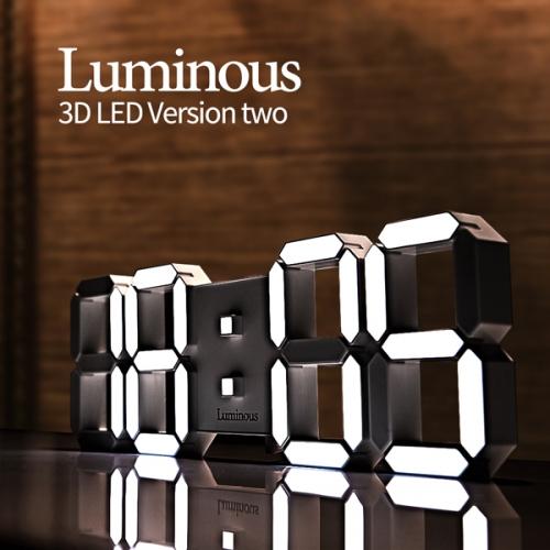 까르니아 특대형 무소음 인테리어 LED 벽시계