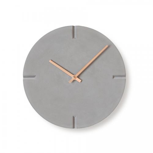 콘크리트브이컷골드벽시계