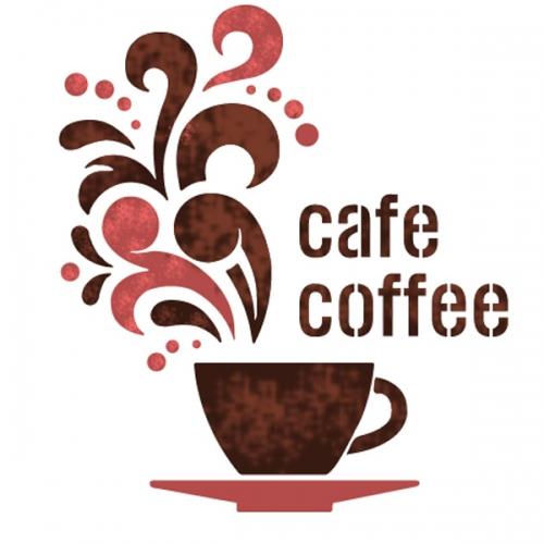 스텐실 도안(ST-2105) 환상의 커피