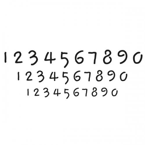 스텐실 도안(ST-3021) 숫자-11