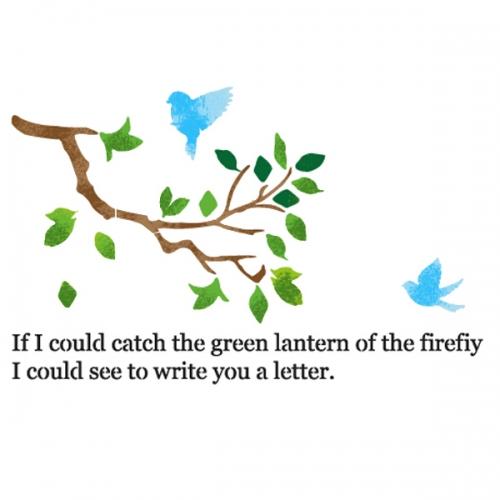 스텐실 도안(ST-5019) 사랑편지