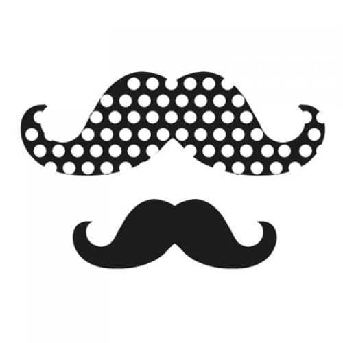 스텐실 도안(ST-5030)콧수염의 변신