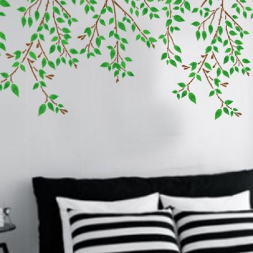 벽화 스텐실 도안(MF-2008) 여름향기
