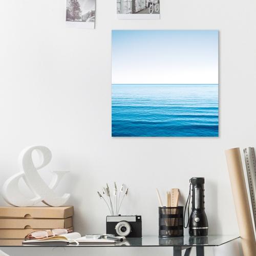 보기만해도 시원한 푸른바다 캔버스 아트 액자 25x25cm