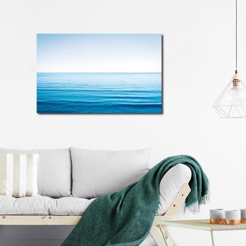 보기만해도 시원한 푸른바다 캔버스 아트 액자 25x40cm