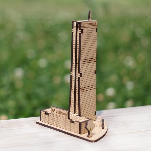 [ 모또 나무 미니어처] 서울 랜드마크 63빌딩