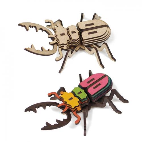[모또 나무 미니어처] 사슴벌레 만들기
