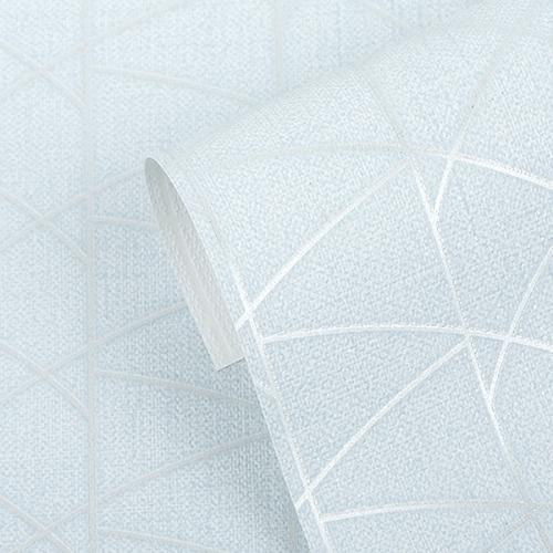 (특가판매) 만능풀바른벽지 합지 H1059-2 헤세 실버블루