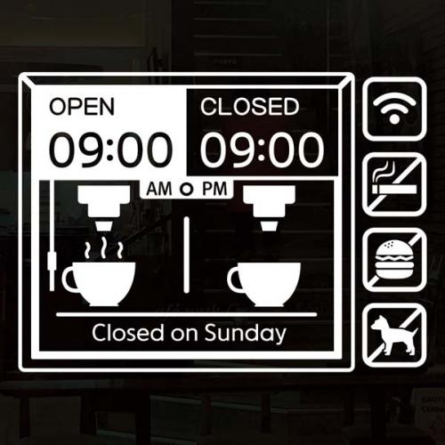 오픈클로즈_카페 커피머신