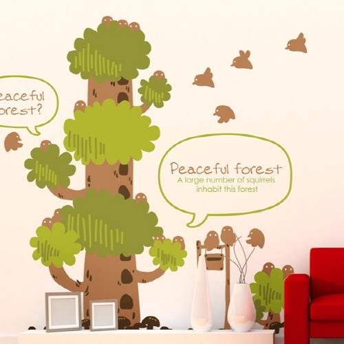 Peaceful forest village 2